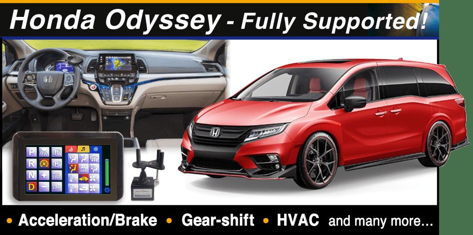 Honda Odyssey support